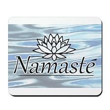 Namaste Lotus Ripple Mousepad