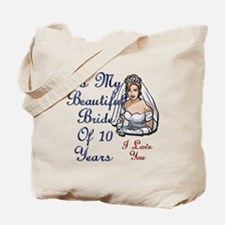 Just married 60 years ago Tote Bag