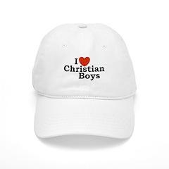 I loves Christian Boys Baseball Cap