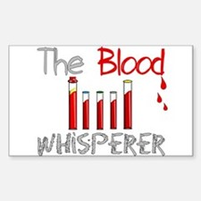 The Whisperer Occupations Sticker (Rectangle)