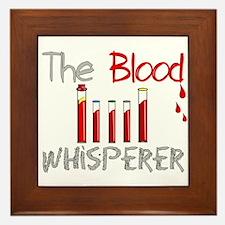The Whisperer Occupations Framed Tile
