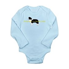 My Brother is a Border Collie Long Sleeve Infant B