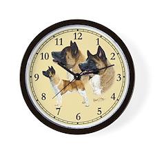 Akita Wall Clock