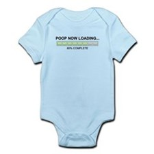 Poop Now Loading Infant Bodysuit