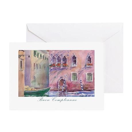 Venice Italian Birthday Card