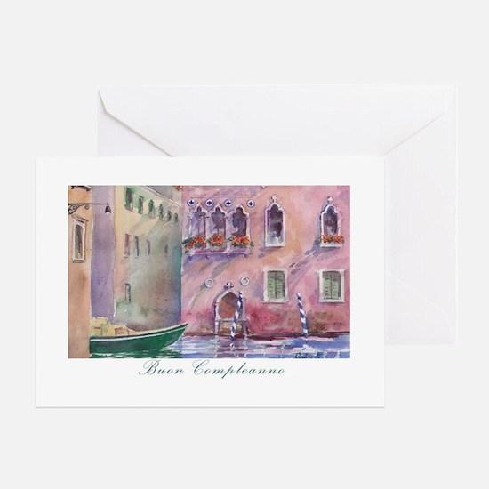 Italian Stationery – Italian Birthday Card