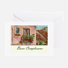 Italian Language Birthday Cards (Pk of 10)