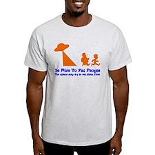 Be Nice To Fat People Shirt T-Shirt