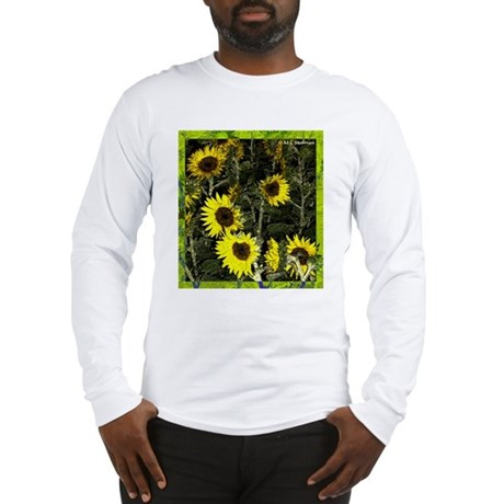 Sunflowers, colorful, Long Sleeve T-Shirt