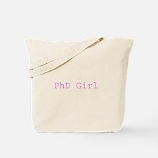 Cute Womens phd Tote Bag