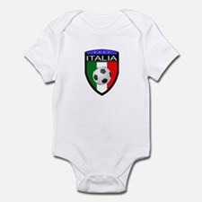 Italia Soccer Patch Infant Bodysuit