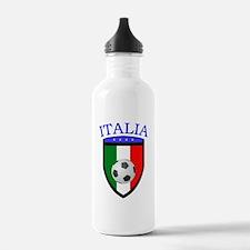 Italian Soccer Water Bottle