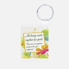 ACIM-All Things Work Together Keychains