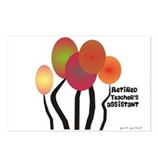 Teacher's Assistant Postcards (Package of 8)