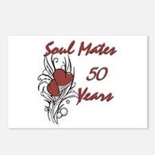 Cute 50 year anniversary Postcards (Package of 8)