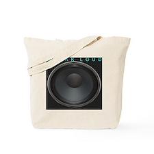 SpeakLoud - Black Tote Bag