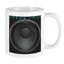 SpeakLoud - Black Mug