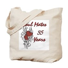 Cool 35th wedding anniversary Tote Bag