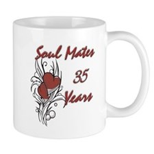 Cool 35th wedding anniversary Mug