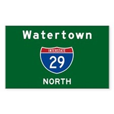 Watertown 29 Decal