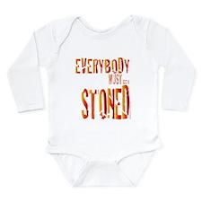 Everybody Must Get Stoned/Dyl Onesie Romper Suit