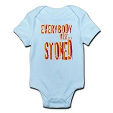 Everybody Must Get Stoned/Dyl Infant Bodysuit