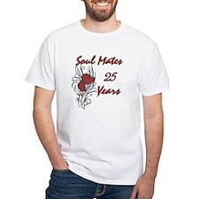 Unique 25th wedding anniversary Shirt