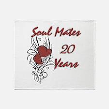 Unique 20 years Throw Blanket