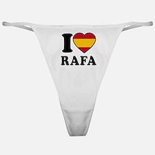 I Love Rafa Nadal Classic Thong