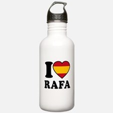 I Love Rafa Nadal Water Bottle