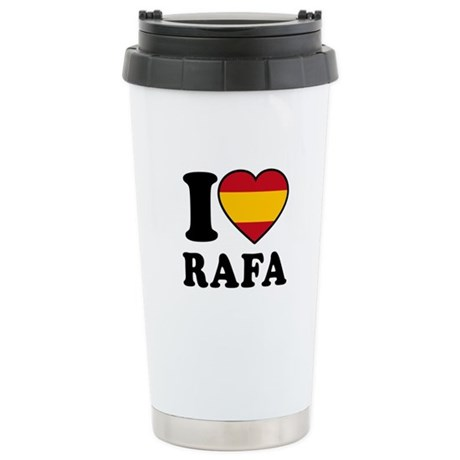 I Love Rafa Nadal Stainless Steel Travel Mug