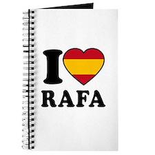 I Love Rafa Nadal Journal