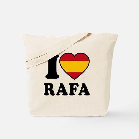 I Love Rafa Nadal Tote Bag