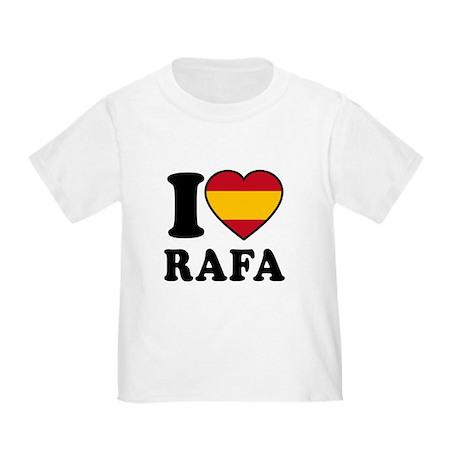 I Love Rafa Nadal Toddler T-Shirt