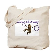 Mommy's Li'l Monkey Tote Bag