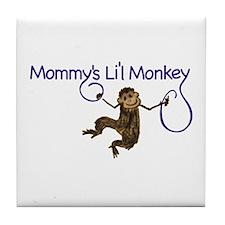 Mommy's Li'l Monkey Tile Coaster