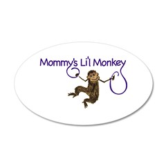 Mommy's Li'l Monkey Wall Decal