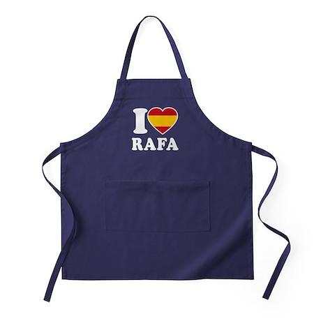 I Love Rafa Nadal Apron (dark)
