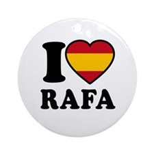 I Love Rafa Nadal Ornament (Round)