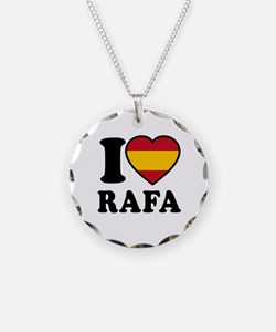 I Love Rafa Nadal Necklace