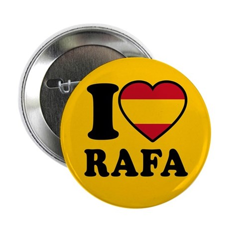 "I Love Rafa Nadal 2.25"" Button (100 pack)"