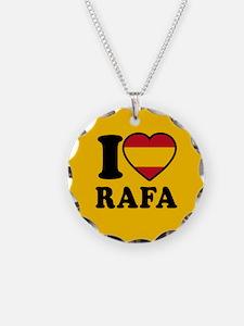I Love Rafa Nadal Necklace