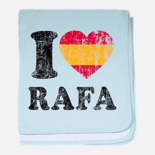 Rafa Love baby blanket