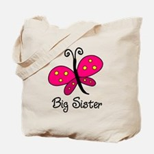 Butterfly Lil Sis Tote Bag