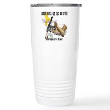 AF What Does Your Niece Wear Travel Mug
