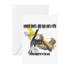 AF What Does Your Niece Wear Greeting Cards (Pk of