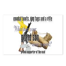 AF What Does Your Grandson Wear Postcards (Package