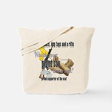 AF What Does Your Grandson Wear Tote Bag