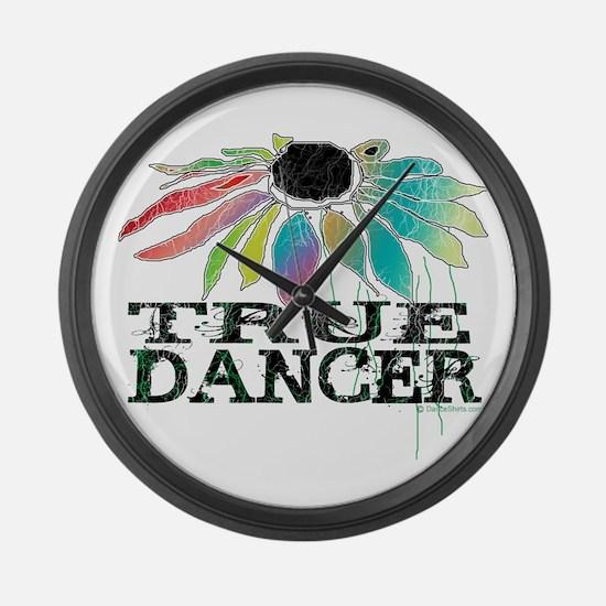 True Dancer Large Wall Clock