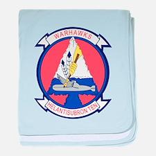 HS Squadron baby blanket